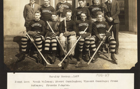1926-27 Providence College — PC's First Team