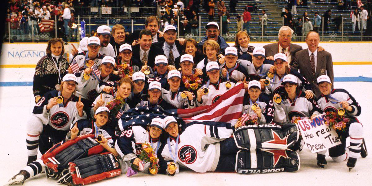 1998 USA Olympic Women's Hockey Team