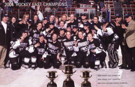 2004-05 Providence College Womens NCAA Frozen Four Team