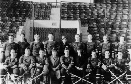 "1937-38 RI Reds, American Hockey League ""Calder Cup"" Champions"