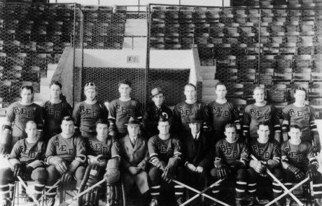 "1937-38 RI Reds, American Hockey League ""Calder Cup"" Champions"