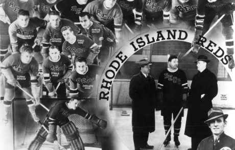 "1939-40 RI Reds, American Hockey League ""Calder Cup"" Champions"