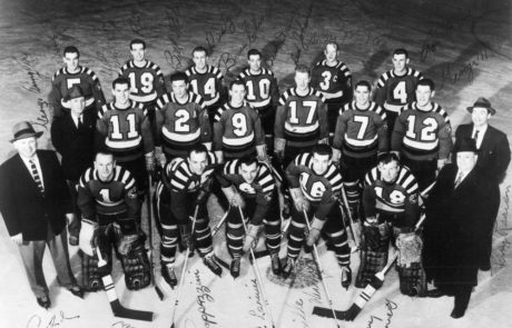 "1955-56 RI Reds, American Hockey League ""Calder Cup"" Champions"