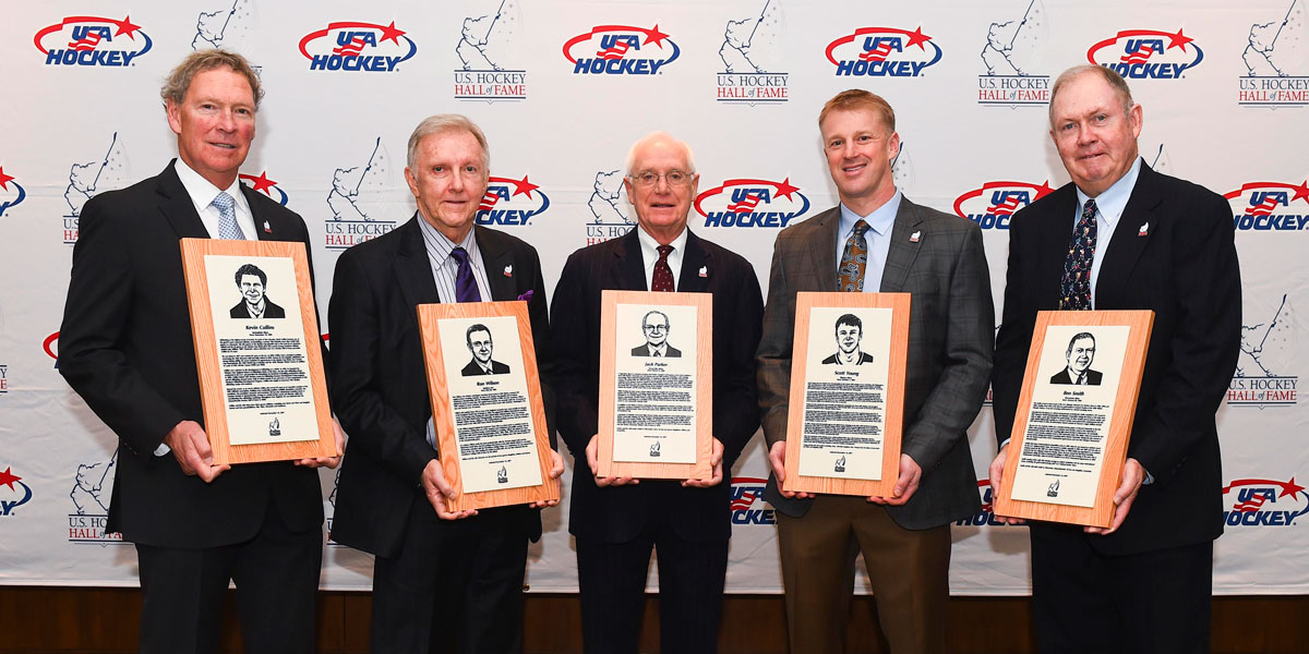 USA Hockey 2017 Hall of Fame Inductees