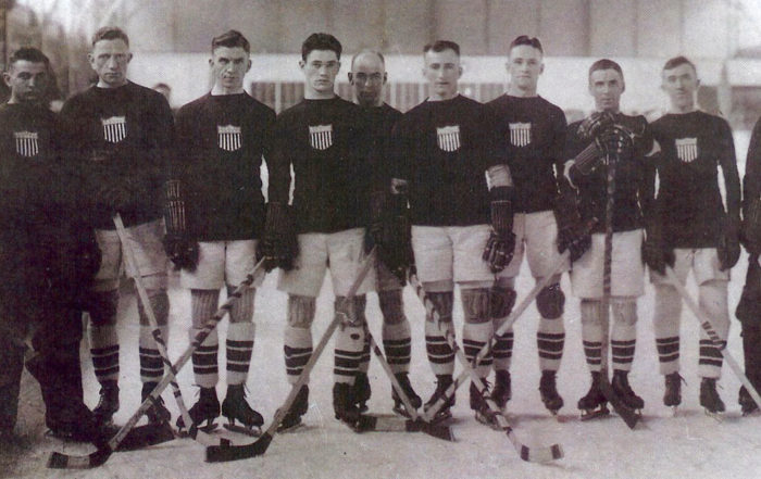 The First Olympic Ice Hockey Tournament (Summer 1920 games in Antwerp, Belgium)