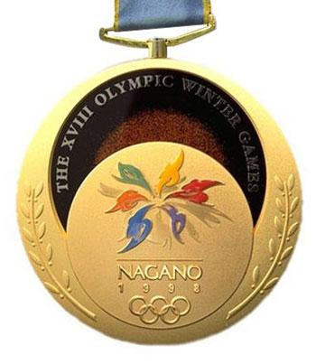 nagano gold medal