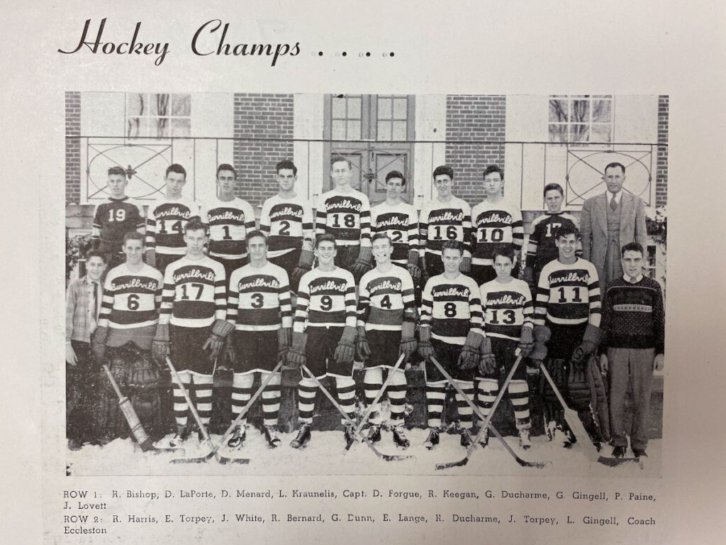1948 Burrillville State Champs