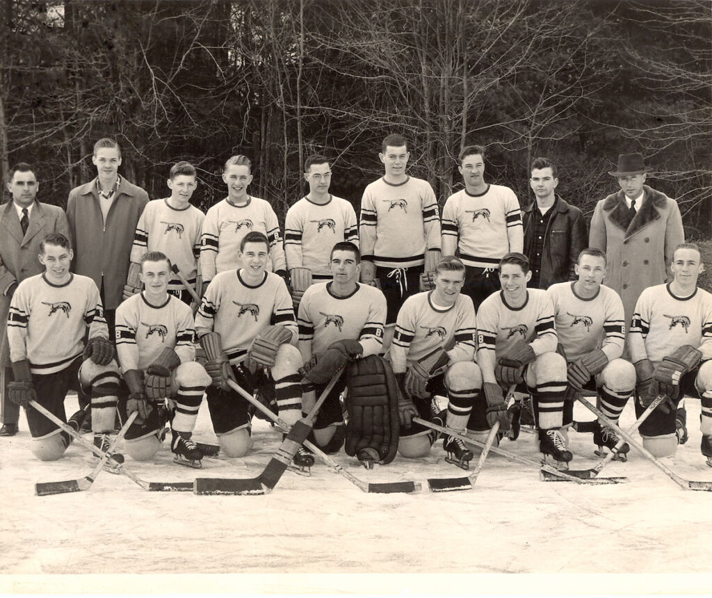 1955 Burrillville State Champs