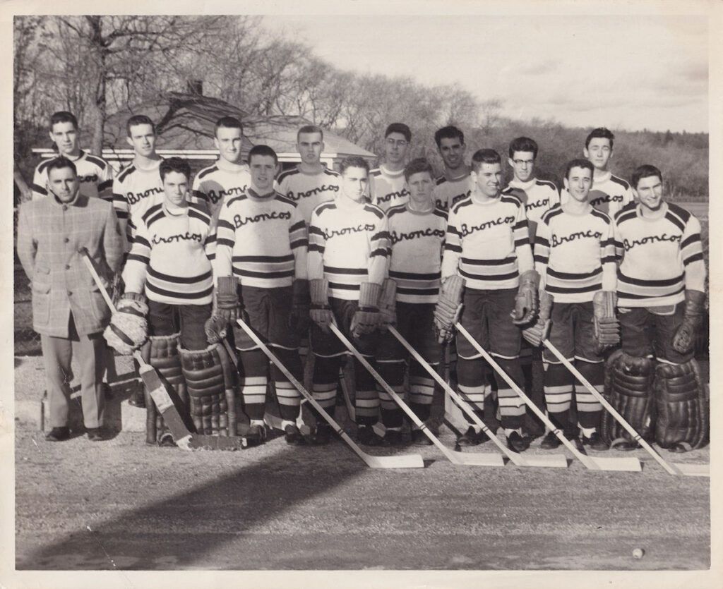 1957 Burrillville State Champs
