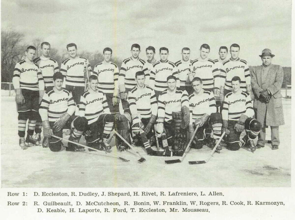 1958 Burrillville State Champs