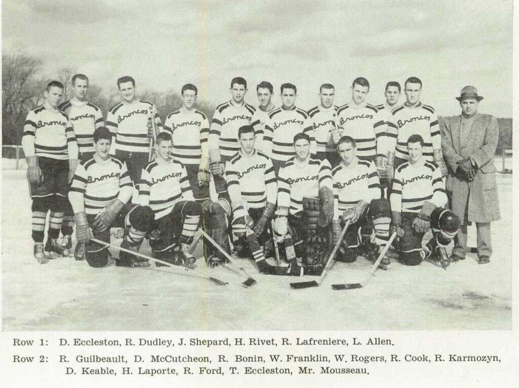 1958 Burrillville RI NE Champs