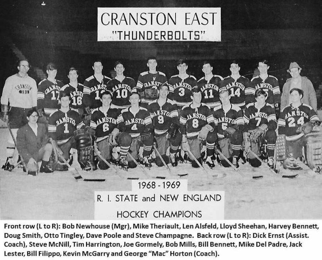 1969 Cranston East RI NE Champs