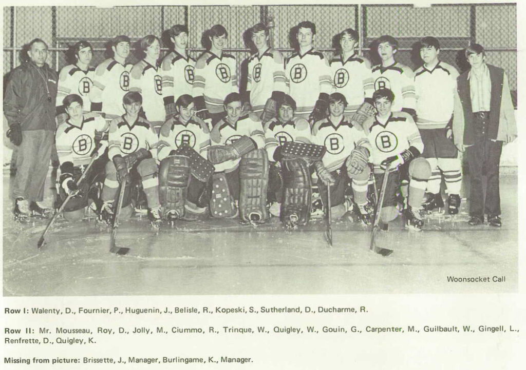 1971 Burrillville State Champs