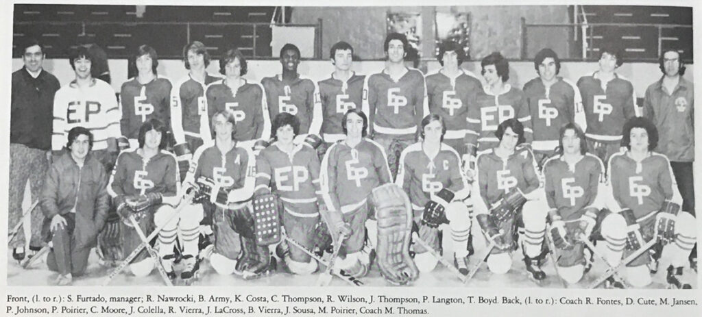 1975 East Providence RI & NE Champs