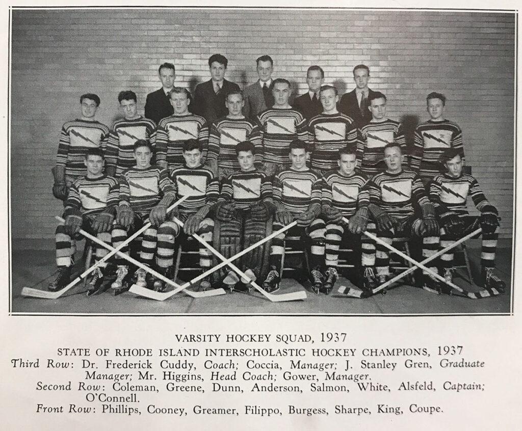 1937 Cranston State Champs