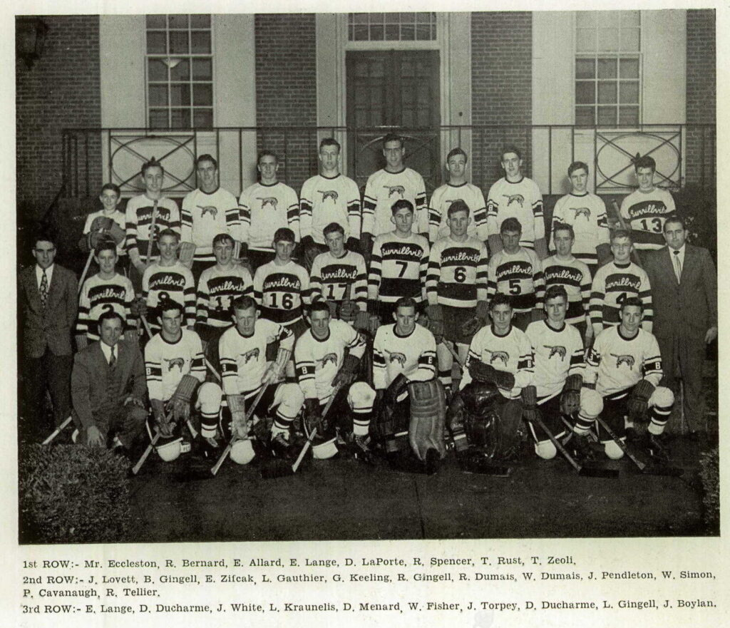 1949 Burrillville State Champs