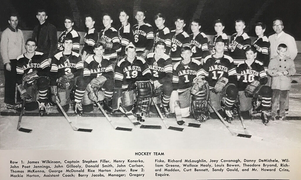 1964 Cranston East State Champs