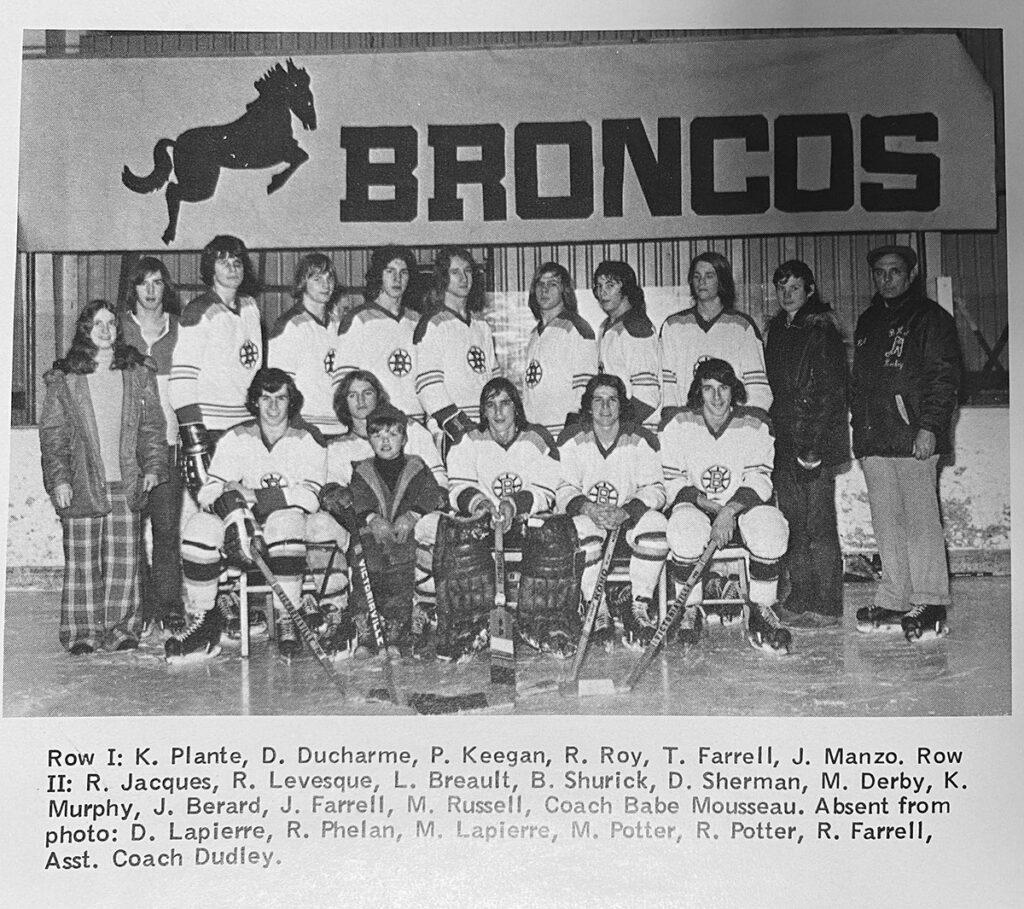 1974 Burrillville NE Champs